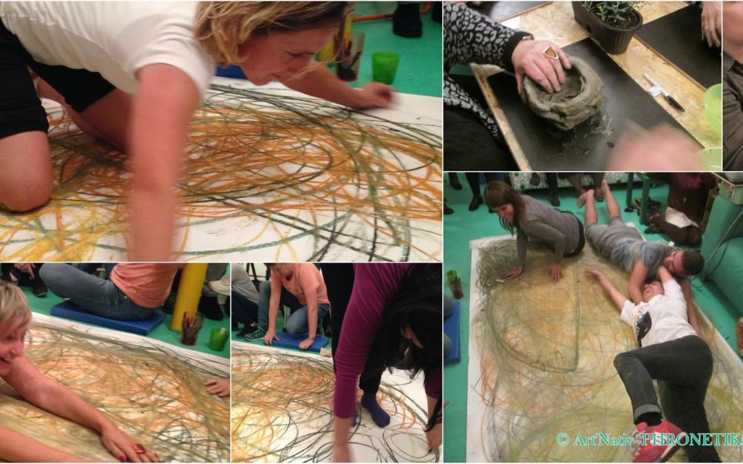 """Artemotion Xpress In Europe"" n°4 – PHRONETIK® art therapy WORKSHOP"